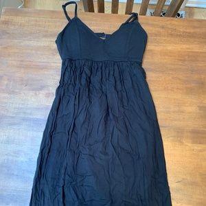 RVCA black maxi dress